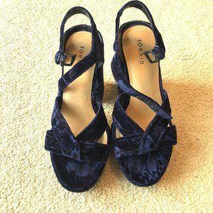 Torrid Velvet Heels